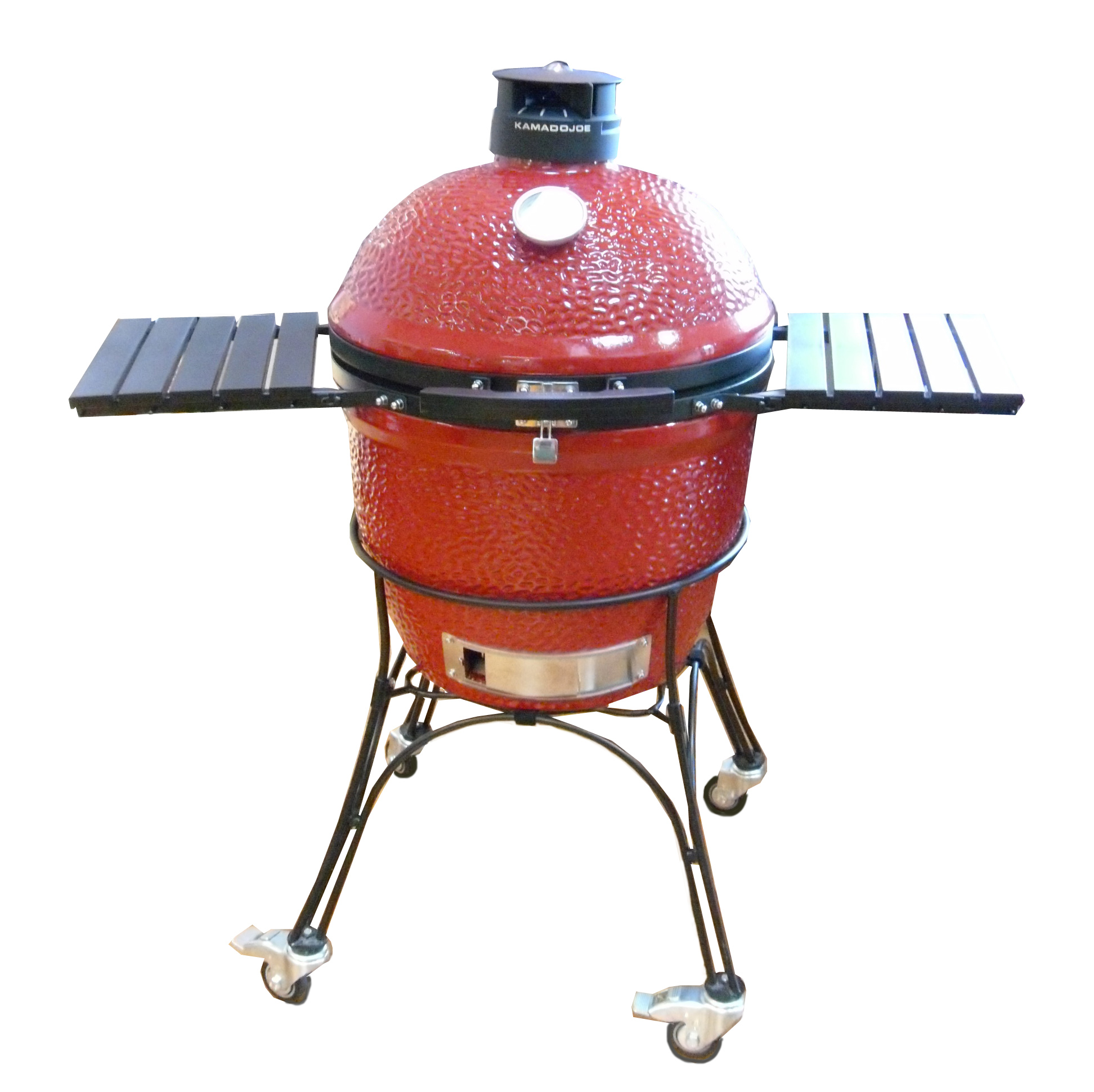 kamado joe classic joe ii 18 red keramik grill. Black Bedroom Furniture Sets. Home Design Ideas